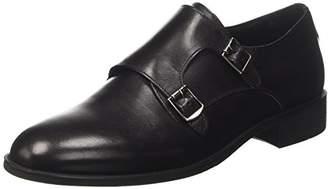 Bata 8246128, Men's Buckle Shoes black Size: