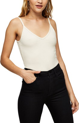 Ribbed V-Neck Camisole