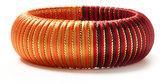 Silk Stripe Two Tone Bangle