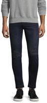 BLK DNM 25 Tattered Jeans