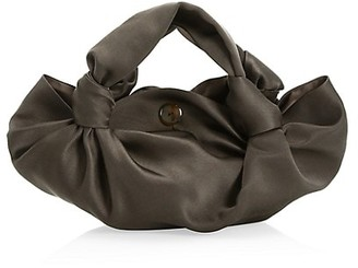 The Row Ascot Velvet Hobo Bag