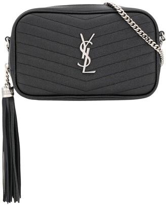Saint Laurent Lou grainy crossbody bag