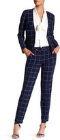 Trina Turk Elian Windowpane Trousers