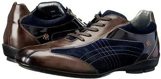 Mezlan Vega (Brown/Navy) Men's Lace up casual Shoes