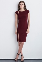 Meridith Cap Sleeve Stretch Jersey Dress