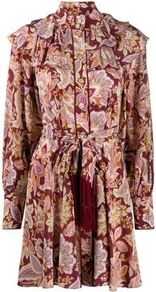 Zimmermann Fringe Detail Dress