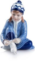 Royal Copenhagen Collectibles Girl with Skates Figurine