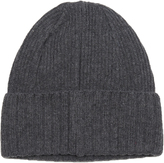 Larose Ribbed-knit merino-blend beanie hat