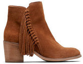 Kenneth Cole Rotini Fringed Ankle Boots