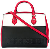 Love Moschino colour-block tote - women - Polyurethane - One Size