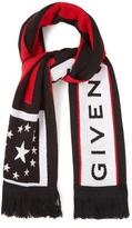 Givenchy Wool-blend logo scarf