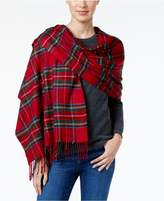 Charter Club Tartan Plaid Blanket Wrap and Scarf in One, Created for Macy's