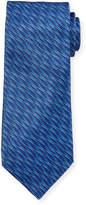 Neiman Marcus Italian-Made Striped Silk Tie