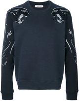 Valentino panther print sweatshirt - men - Cotton/Polyamide - S