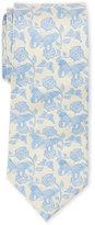 Duchamp Butterfly & Floral Silk Tie