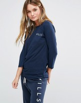 Jack Wills Fernhill Raglan Long Sleeve T-Shirt
