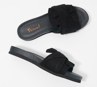 Think! Leather Slide Sandal - Shik