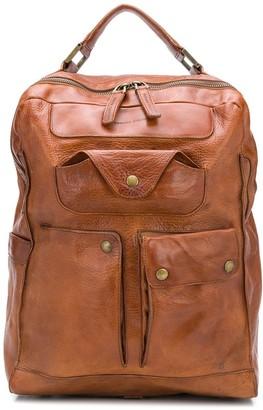 Officine Creative Retro multi-pocket backpack