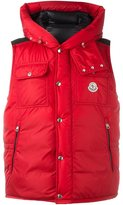 Moncler sleeveless hooded gilet - men - Feather Down/Polyamide - 1