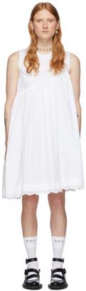 Simone Rocha White Daisy Dress