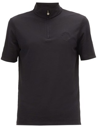 Iffley Road Sidmouth Pique T-shirt - Mens - Black
