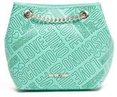 Love Moschino Logo Print Chain Shoulder Bag