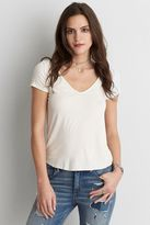 American Eagle Outfitters AE Soft & Sexy Ribbed Voop T-Shirt