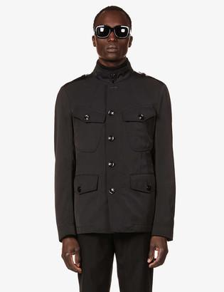 Tom Ford Pocket-embellished shell jacket