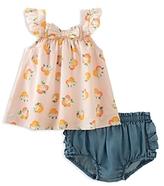 Kate Spade Girls' Orangerie Tunic & Bloomers Set - Baby