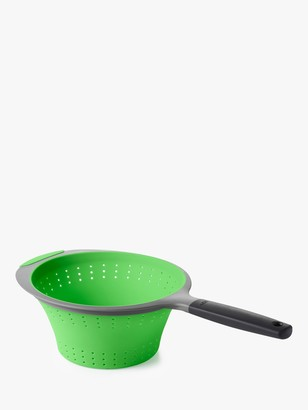 OXO Good Grips Collapsible Long Handle Colander, Green, 2L