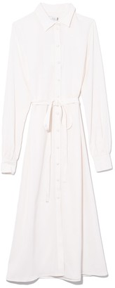 Co Long Shirt Dress in Ivory