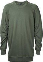 Ann Demeulemeester crew neck sweatshirt - men - Cotton - M