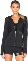 Trina Turk Lazer Cuts Solids Jacket