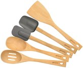 Anolon Advanced Tools Natural Beechwood Tool Set, 5-pc - Brown
