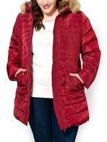 Penningtons Faux-Fur Hooded Down Jacket