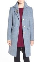 Eliza J Women's Embellished Boucle Reefer Coat