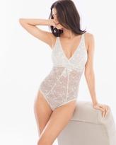 Soma Intimates Lace Plunge Bodysuit