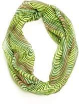 Violet Del Mar Striped Infinity Scarf