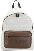Givenchy logo embossed backpack