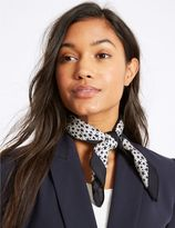 Marks and Spencer Heart & Star Print Scarf