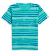 Buffalo David Bitton Boys Striped Crewneck Tee