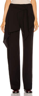 Chloé Tie Pant in Black | FWRD