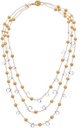 Effy Fine Jewelry 14K 35.38 Ct. Tw. Gemstone Necklace
