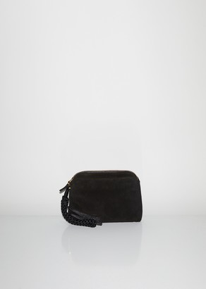 The Row Multi Pouch Wristlet Bag in Suede