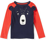 Joules Little Boys 2-6 Bear Striped-Sleeve Top