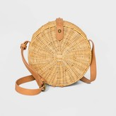 Universal Thread Rattan Circle Crossbody Bag – Universal ThreadTM Natural