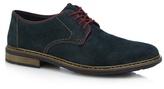 Rieker Dark Green Suede Derby Shoes