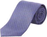Ermenegildo Zegna Indigo Silk Tie