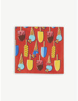 Eton Ice Cream Silk Pocket Square