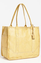 Frye 'Campus' Leather Shopper - Yellow